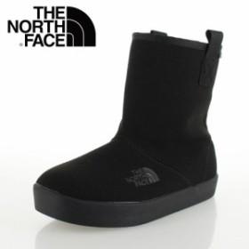 ザ ノースフェイス THE NORTH FACE NFJ51647 ブラック (K) ウインター キャンプ ブーティー キッズ ブーツ 防水 保温 PUスエード