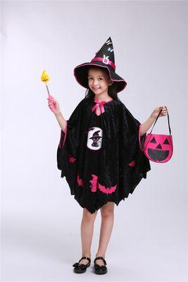 小朋友萬聖節 化妝舞會服裝 角色扮演42 (送魔法棒+魔法帽+南瓜袋)