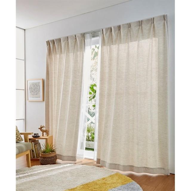 【送料無料!】ナチュラルカーテン ドレープカーテン(遮光あり・なし) Curtains, 窗, 窗簾