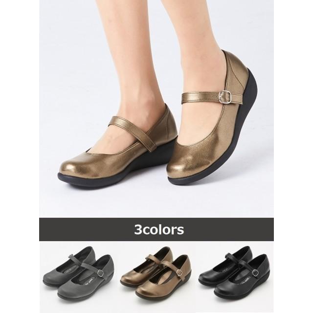 【大きいサイズレディース】リゲッタスマイル ウォーキングパンプス(ゆったりワイズ) シューズ(靴) パンプス