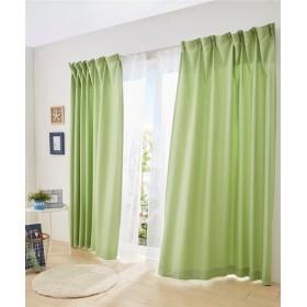 スラブ調遮光カーテン&レース4枚セット(ポップ) カーテン&レースセット, Curtains, 窗, 窗簾