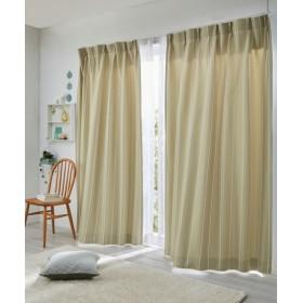 【送料無料!】カスケードストライプ柄遮光カーテン ドレープカーテン(遮光あり・なし) Curtains, 窗, 窗簾