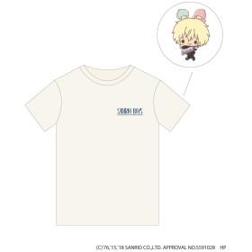 PLATINUM AURA(プラチナオーラ) サンリオ男子 トレーディングポストカード付き Tシャツ