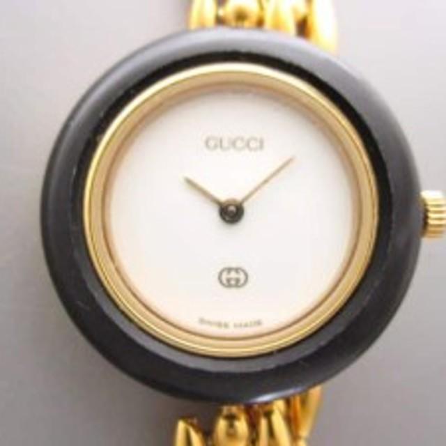 d04841f4515f グッチ GUCCI 腕時計 ベゼルウォッチ 43416 レディース 白【中古】 通販 ...