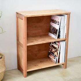 小さな箱型シェルフ 小物や雑誌などの収納に