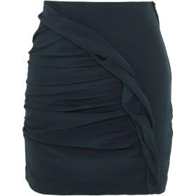 《セール開催中》CARMEN MARCH レディース ひざ丈スカート ディープジェード 40 ポリエステル 100%