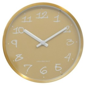 モッド - ゴールドの伝説の壁時計2 in 1(メタル)