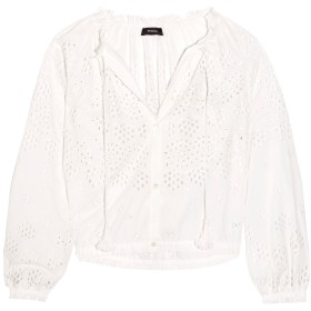 《期間限定セール開催中!》THEORY レディース シャツ ホワイト XL コットン 100%