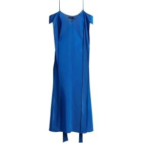 《セール開催中》ELLERY レディース 7分丈ワンピース・ドレス ブルー 8 レーヨン 84% / シルク 16%