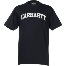 《期間限定 セール開催中》CARHARTT メンズ T シャツ ダークブルー XS コットン 100%
