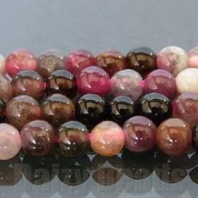 天然石 パワーストーン ビーズ 「トルマリン(天然)」 丸玉 約3mm 1連(約38-40cm)