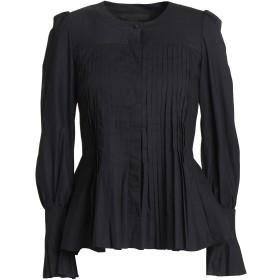 《期間限定 セール開催中》CO レディース シャツ ブラック XS コットン 100%