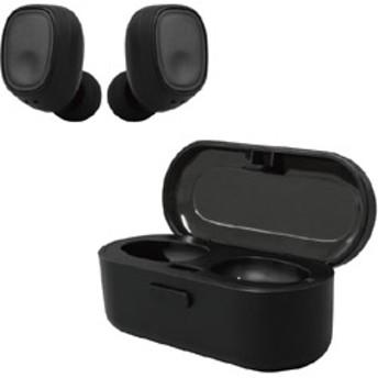 フルワイヤレスイヤホン Capsule(カプセル) 3E-BEA6-B ブラック [マイク対応 /左右分離タイプ /Bluetooth]