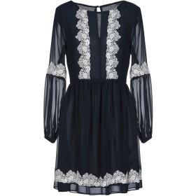 《セール開催中》BLUGIRL BLUMARINE レディース ミニワンピース&ドレス ダークブルー 40 100% ポリエステル