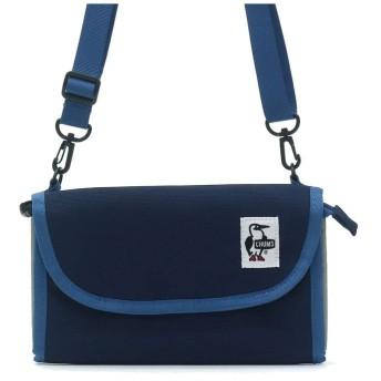 ギャレリア CHUMS ショルダーバッグ チャムス Eco Bellows Pocketbook Shoulder CH60 2476 ユニセックス ネイビー F 【GALLERIA】