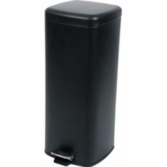ゴミ箱 ごみ箱 ダストボックス くずかご キッチン リビング おしゃれ スリム ブラック 黒 30リットル ペダル 30l 30 ふた付き 蓋付きゴミ