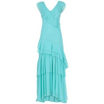 《セール開催中》KI6 WHO ARE YOU レディース ロングワンピース&ドレス ライトグリーン 40 ポリエステル 100%