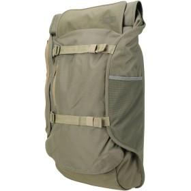 《セール開催中》AEVOR Unisex バックパック&ヒップバッグ ミリタリーグリーン 紡績繊維 TRAVEL PACK
