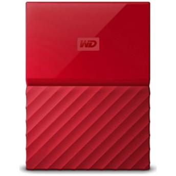 ポータブルハードディスク [USB3.0/1TB/Win] My Passport 2016(レッド)WDBYNN0010BRD-WESN