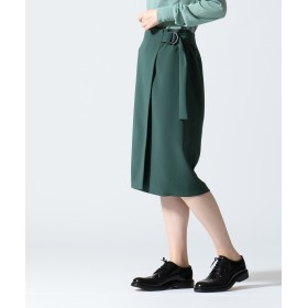 【オンワード】 JOSEPH WOMEN(ジョゼフ ウィメン) 【WEB限定カラーあり】ARIA / FLUID CLOTH スカート [WEB限定]オリーブ 38 レディース 【送料無料】