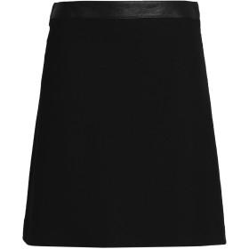 《期間限定 セール開催中》BELSTAFF レディース ミニスカート ブラック 38 レーヨン 97% / ポリウレタン 3% / 革