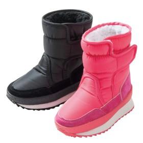 【格安-子供用靴】キッズ撥水加工ウィンターブーツ