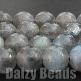 天然石 パワーストーン ビーズ 「ラブラドライト(天然)」 丸玉 6mm 1連(約38-40cm)