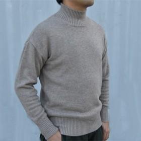 【受注製作】メンズカシミアトップス上着・ニットセーター オーダーメイド 豊富な色 KMH-996