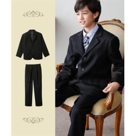 【もっとゆったりサイズ】【卒業式】フォーマルスーツ(ジャケット+パンツ)(男の子 子供服 ジュニア服) フォーマル(入学式・卒業式)