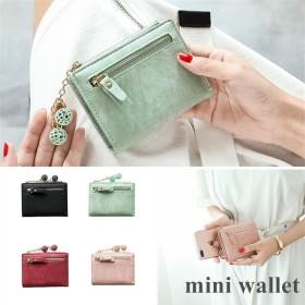 財布 レディース 二つ折り 小銭入れ コインケース かわいい ミニ さいふ 小さい ウォレット カード入れ