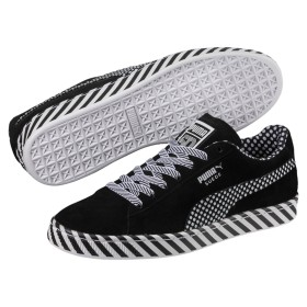 【プーマ公式通販】 プーマ SUEDE CLASSIC Pop Culture メンズ Puma Black-Puma White  SHOES PUMA.com