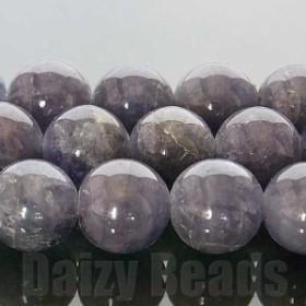 天然石 パワーストーン ビーズ 「1点もの@現品限り」「タンザナイト(天然/加熱)」 丸玉 8mm
