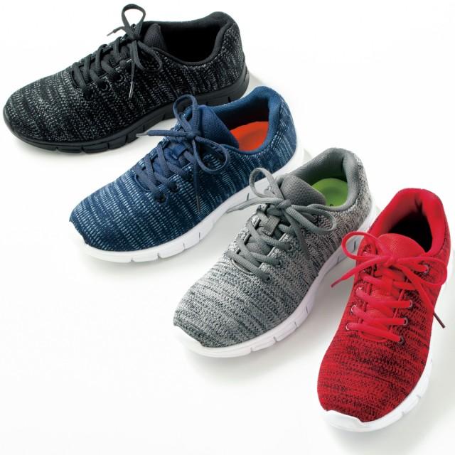 【格安-女性靴】(JOG軽)レディース超軽量ニット素材スポーツスニーカー