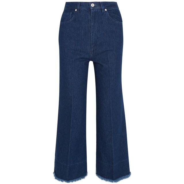 《セール開催中》CEDRIC CHARLIER レディース ジーンズ ブルー 40 コットン 96% / 指定外繊維 4%