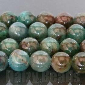 天然石 パワーストーン ビーズ 「アパタイト(天然)」 丸玉 約5mm 1連(約38-40cm)