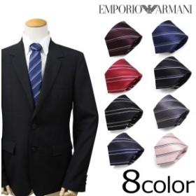 エンポリオ アルマーニ ネクタイ EMPORIO ARMANI イタリア製 シルク ビジネス 結婚式 メンズ