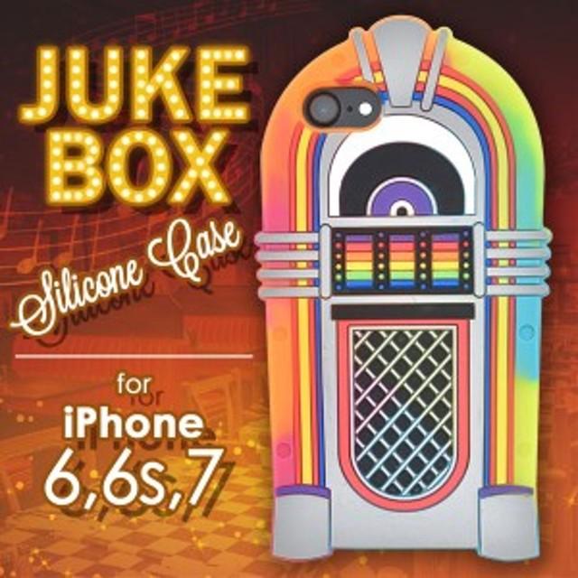 iPhone8 iPhone7 ケース ジュークボックスソフトケース カバー アイフォンケース スマホケース