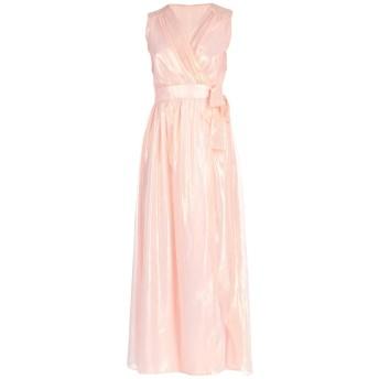 《セール開催中》ATOS LOMBARDINI レディース ロングワンピース&ドレス あんず色 40 ポリエステル 100%
