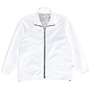 MIZUNO SHOP [ミズノ公式オンラインショップ] ウィンドブレーカーシャツ(マーク無) 01 ホワイト 87WD25