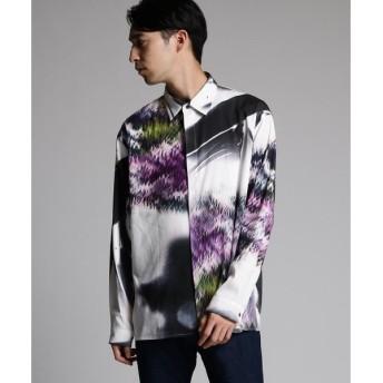 tk.TAKEO KIKUCHI / ティーケー タケオキクチ アートプリントシャツ