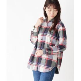 SHOO・LA・RUE / シューラルー ネルチェックルーズフィットシャツ