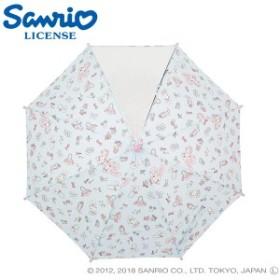 傘 キッズ 雨傘 45ぼんぼんりぼんディズニー キャラクター