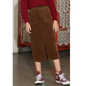 PROPORTION BODY DRESSING / プロポーションボディドレッシング  《BLANCHIC》太コールタイトスカート