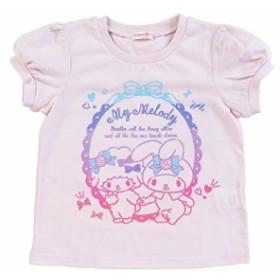 マイメロディ 速乾Tシャツ ピンク 110cm☆サンリオ 子供キッズサマー衣料シリーズ クロネコDM便可big_la