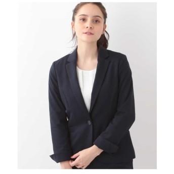 OFUON / 【洗える】テーラードジャージージャケット
