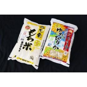 【お米10㎏】 風の子もち・ゆめぴりか 低農薬米