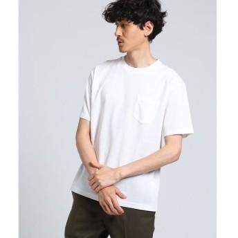 TAKEO KIKUCHI / タケオキクチ アディクトポンチポケット Tシャツ [ メンズ 無地 ]