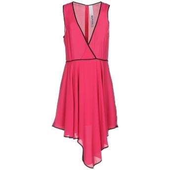 《セール開催中》REVISE レディース ミニワンピース&ドレス フューシャ S ポリエステル 100%