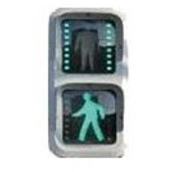 グリーンマックス (N) 2590 着色済み 道路信号機(LED表示タイプC) 返品種別B