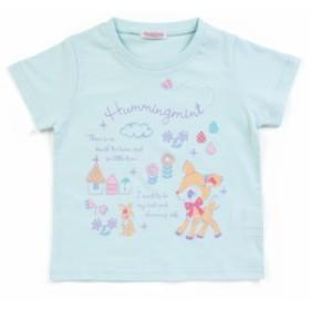ハミングミント キッズTシャツ うさぎ 110cm☆サンリオ 子供キッズサマー衣料シリーズ クロネコDM便可big_la